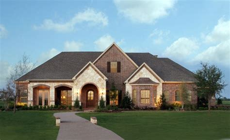 large one story homes paul homes dfw large 1 story house plans and they