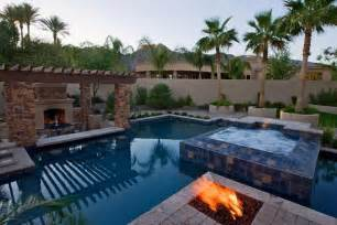 Backyard Pools With Swim Up Bar Swim Up Bars And Swimming Pools In Az Photo Gallery