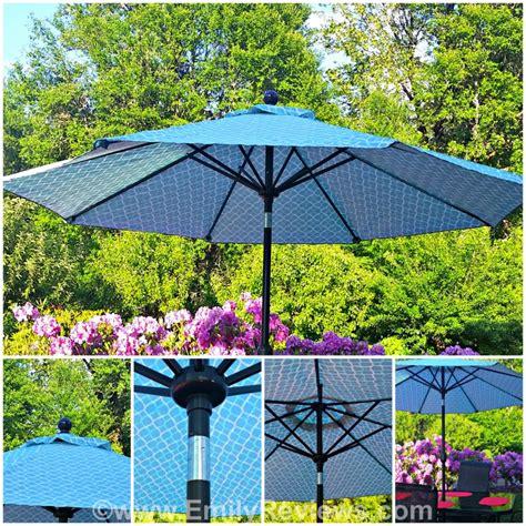 Patio Umbrella Home Goods Dine Al Fresco With Sonoma Goods For Patio Umbrella