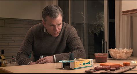 downsizing movie see a tiny matt damon in the new trailer for downsizing