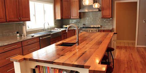 custom wood countertop is a butcher block countertop the same as a custom wood