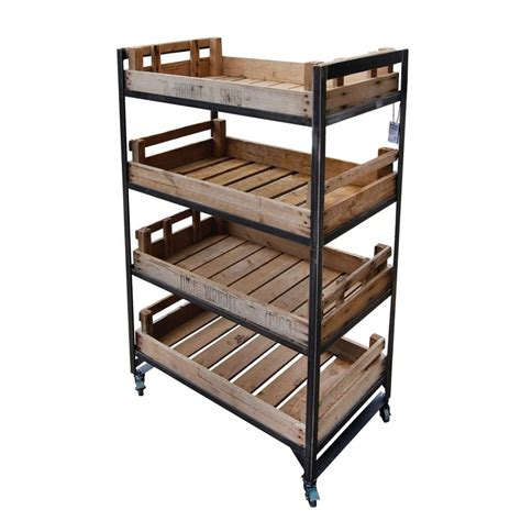 kingsley chitting metal trolley unit retail displays