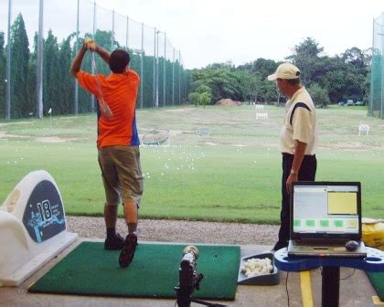 computer golf swing analysis golf lesson golf coach golf instructor golf teacher