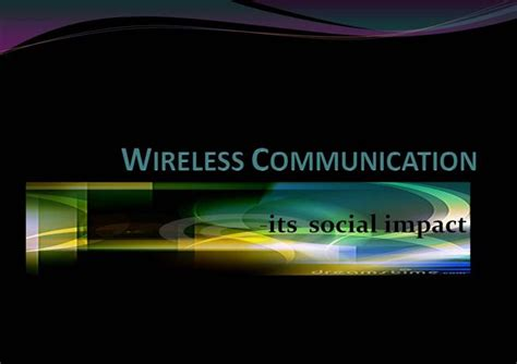 slides for ppt on wireless communication wireless communication authorstream