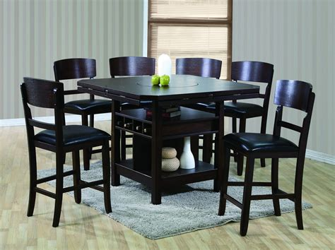 tall dining room table sets furniture oval dining room sets counter height pub table