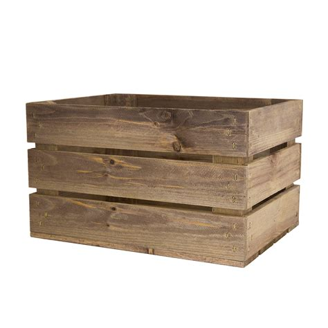 small crate small rustic wooden crates woodenboxuk