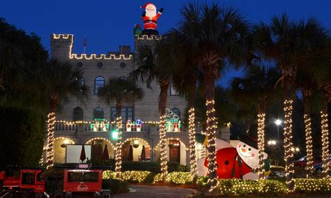 st augustine lights tour ripley s trains nights of lights tours visit st