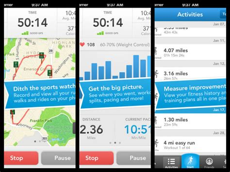 walking apps for android best fitness apps 2015 android ios