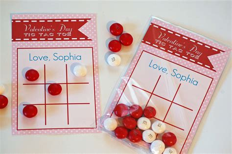 personalized valentines day cards personalized s day card tic tac toe