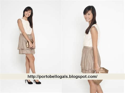 Fitbull Dress Combi Brukat Putih portobello gals sales portobello gals