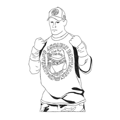Cena Coloring Pages Printable Wwe John Cena Coloring Pages Coloring Home by Cena Coloring Pages Printable