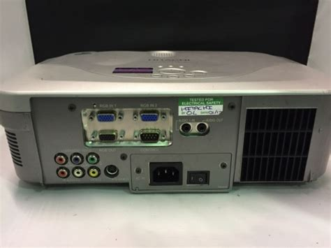 Hitachi Cp X444 Projector Cps