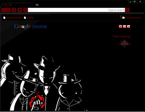 theme chrome red black chrome theme by elrunethe2nd on deviantart