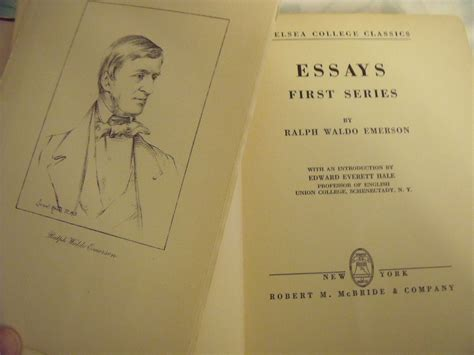 essays series books essays series by emerson ralph waldo