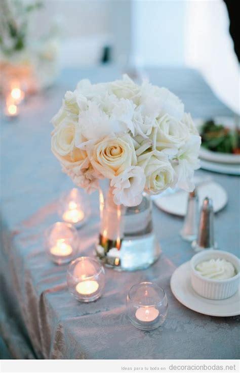 white centerpiece decoraci 243 n bodas