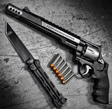butterfly knife holster smith and wesson 44 magnum guns revolver weapons