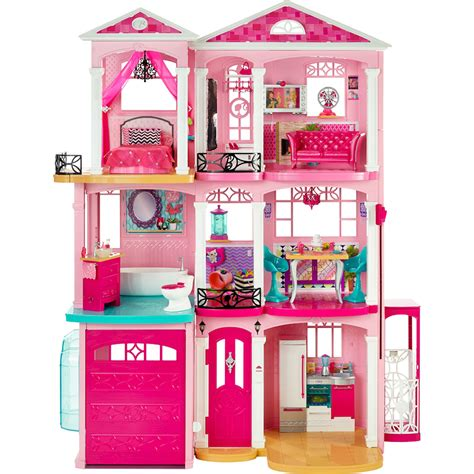 3 story doll house barbie 3 story dreamhouse with working elevator