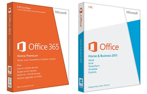 Office 365 Premium Microsoft Office 365 Or Office 2013 Which Is Right For