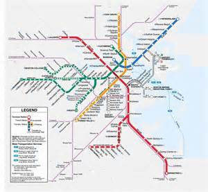 Mbta Map Red Line by On The Red Line Peterdshapiro Com