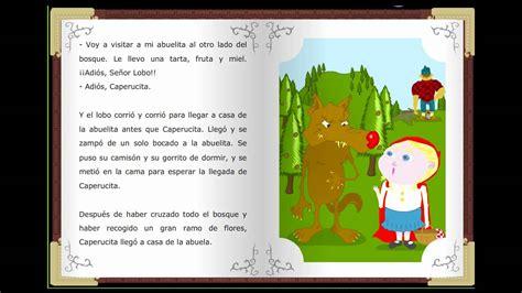 cuentos clasicos infantiles caperucita roja cuentos cl 225 sicos infantiles en espa 241 ol relatos cl 225 sicos childtopia youtube