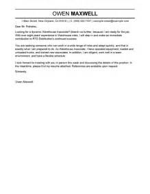 Cover Letter For New Career by Best Production Cover Letter Exles Livecareer