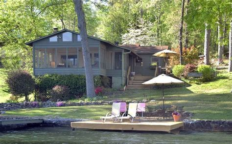 Cabins On Lake Hamilton by Lake Hamilton Cottage Channel Cottage Vrbo