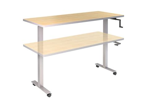 Adjustable Height Tables by Adjustable Height Tables For The Adaptable Office Enviornement