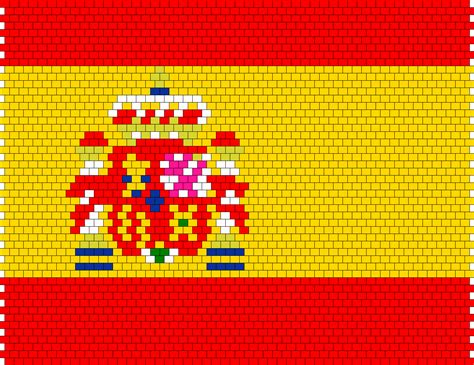 pattern en espanol spanish flag bead pattern peyote bead patterns misc