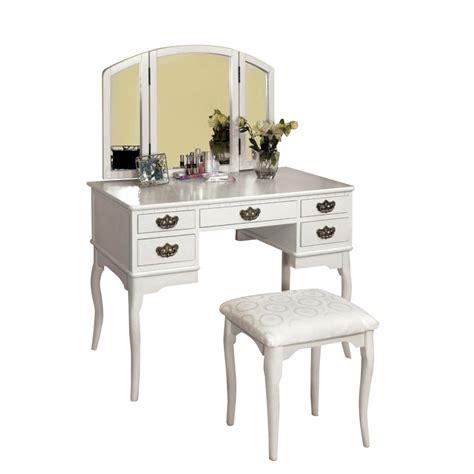 furniture of america thompson bedroom vanity set white furniture of america coriander 3 sided mirror vanity set