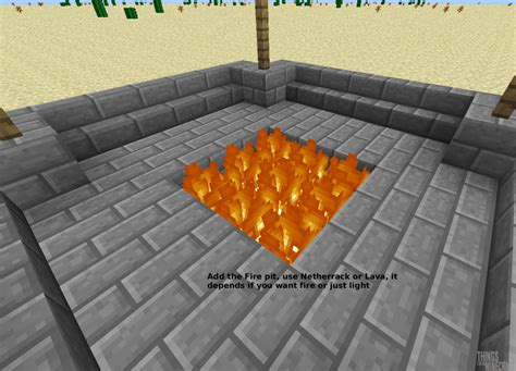 build pit minecraft how to build a safe pit flames will not spread