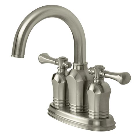 pegasus kitchen faucets parts pegasus verdanza 4 in centerset 2 handle bathroom faucet in brushed nickel 67113w 8004 the