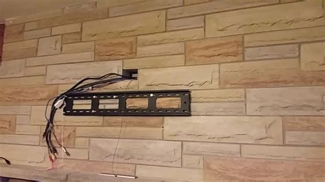 wall mount tv hide wires fireplace wall mount a tv fireplace with no visible wires