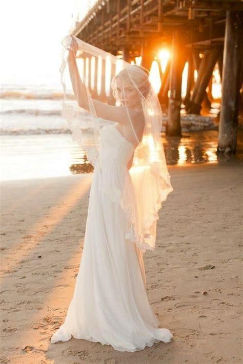 Beach Wedding Veils { Style Inspiration }   Modern