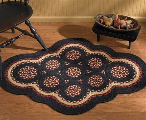 Primitive Braided Rugs sensuous flooring cover highlighted with braided rugs