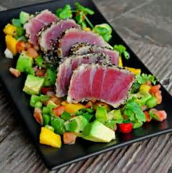 sesame encrusted and seared ahi tuna steaks quot a bachelor