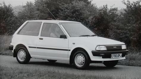 1987 toyota starlet history of the toyota starlet toyota
