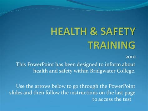 health and safety powerpoint templates health safety induction
