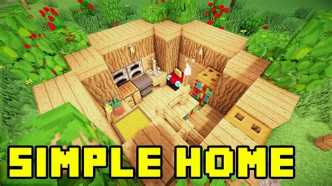 easy build homes minecraft easy simple survival house base home build