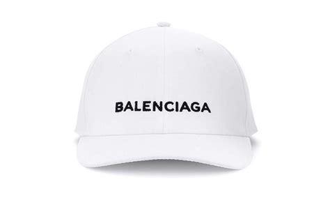 balenciaga caps are trending at fashion week