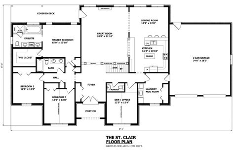 bungalow floor plans canada canadian home designs custom house plans stock house