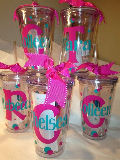 printable vinyl on tumblers personalized decorated tumblers w straw bpa free