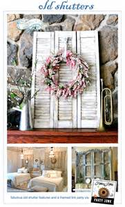 Funky Diy Home Decor Party Junk 183 Old Shutters Funky Junk Interiorsfunky