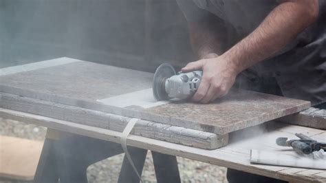 Cutting A Granite Countertop by Osha Issues Silica Warning Aimed At Countertop