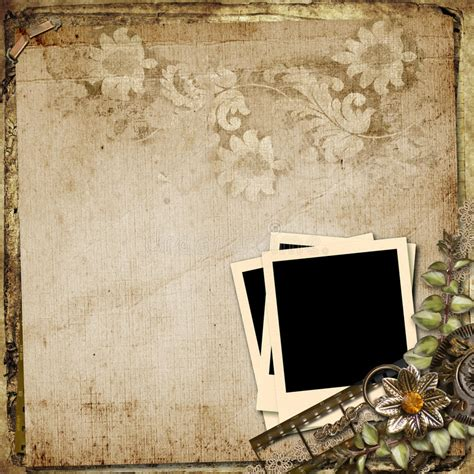 grunge background with st frame royalty free stock photos image 25075598 grunge vintage background with polaroid frame stock illustration illustration of fastener
