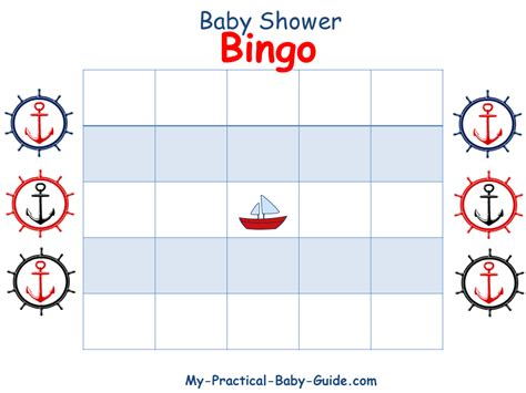baby shower bingo cards template s is for nautical baby shower printable roundup