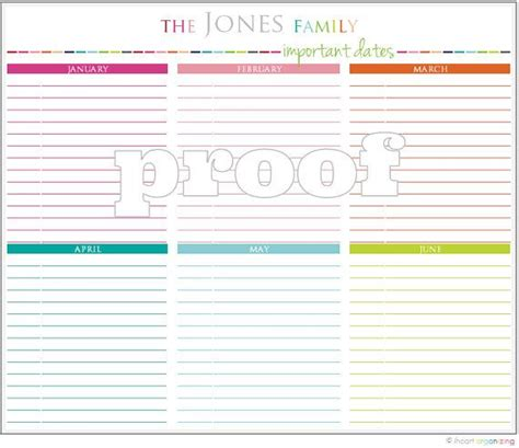 printable calendar custom dates 17 best images about printables on pinterest menu