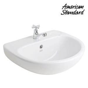 Kran Wastafel American Standard jual wastafel american standard studio 50 wall hung lavatory
