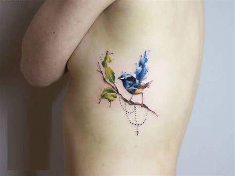 small tree tattoos for women water flower small aqua bird tattoos