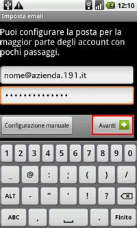 mail posta tim it porta android guide smartphone e tablet pc assistenza