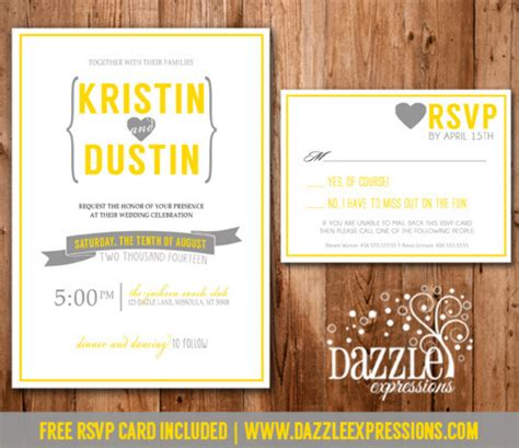 Grey Yellow And White Wedding Colors
